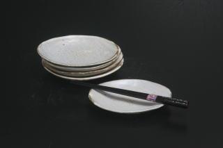 花岡隆 楕円小皿