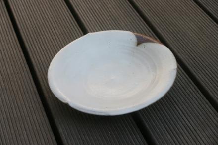 粉引き豆皿b