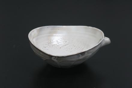 花岡隆 粉引片口鉢